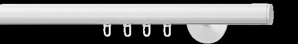 round mit Wandträger soft, Farbe: weiss
