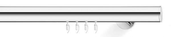 Wandträger Gardinenstange -soft- chrom designed by J.Schmiddem