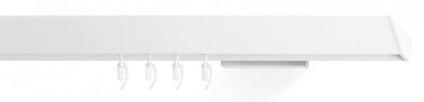 Vorhangschienen vom Designer -edge - in der Farbe weiß