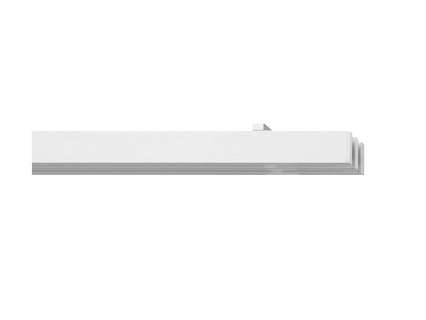 rail&roll mit Deckenträger 3-Lauf alu-silber