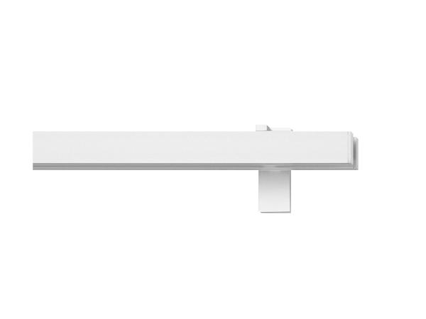 rail&roll mit Wandträger Flächenvorhang 2-Lauf Farbe: alu-silber