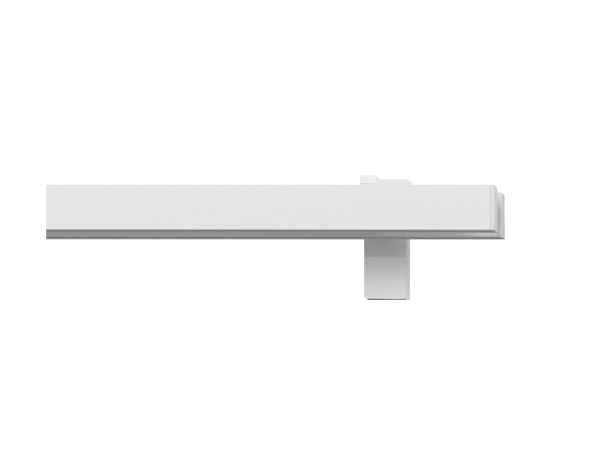 rail&roll mit Wandträger, 2-Lauf, Farbe: weiss