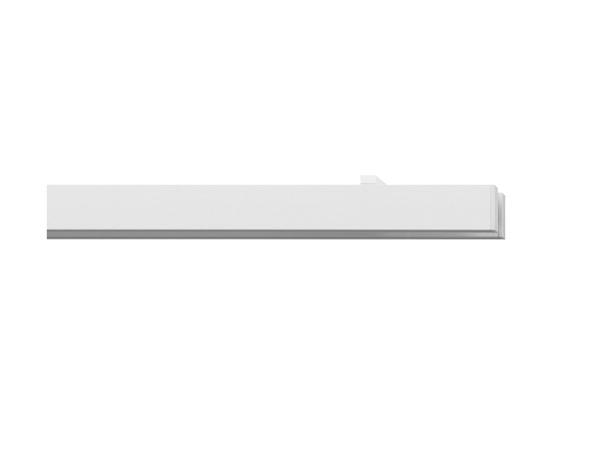 Rail Roll Mit Deckentrager 2 Lauf Farbe Weiss