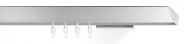 Gardinenschiene einläufig vom Designer -edge - in silber