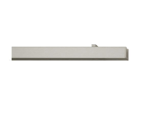 rail&roll mit Deckenträger 2-Lauf vernickelt-matt