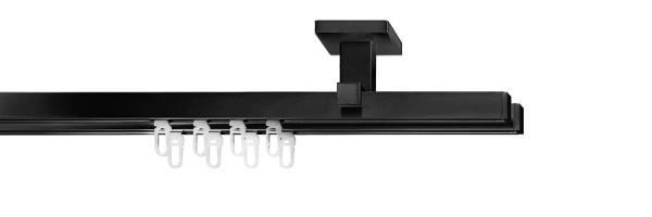 cubic mit 2-Lauf-Deckenträger urban, Farbe: schwarz