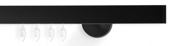 slim - Gardinen für Wohnzimmer - schwarz