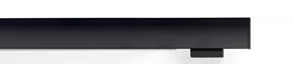 buchheister® cover 2-5 Flächenvorhangschiene mit Blende schwarz 2-Lauf