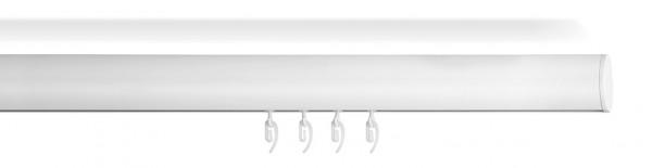 Design Gardinenstange vom Raumausstatter -SOFT- in weiß