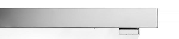 buchheister® cover 2-5 Flächenvorhangschiene mit Blende chrom 2-Lauf