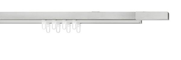 cubic mit 2-Lauf-Deckenträger mini, Farbe: edelstahl