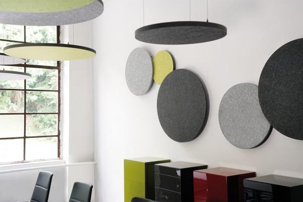 Wand-Set rund wall roundz Magnethalter