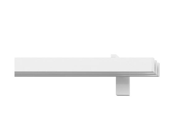 rail&roll mit Wandträger 3-Lauf Farbe weiss