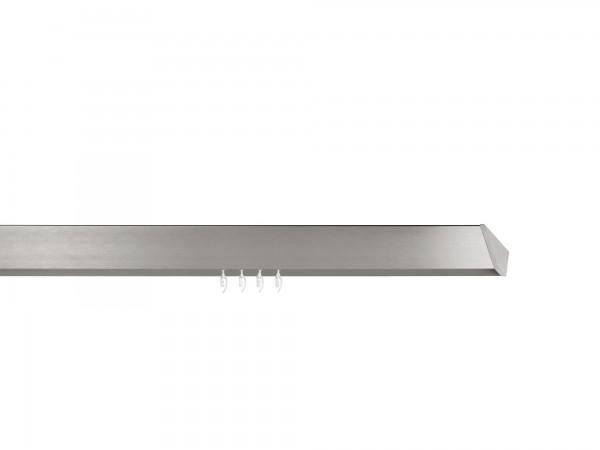 Designer Gardinenstange. edge. 24 x 84 mm. Auf Maß.