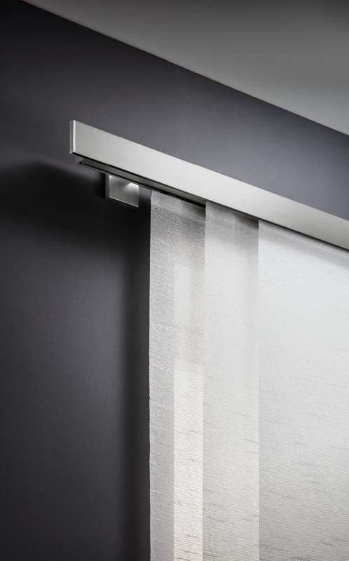 Extrem Design Flächenvorhang - Schiebegardine Gardinenschienen ZG32