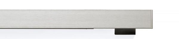 buchheister® cover 2-5 vernickelt-matt 2-Lauf Flächenvorhangschiene
