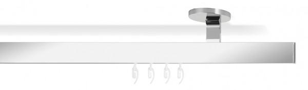 Inneneinrichtung modern gestalten - Vorhangstange -slim- chrom