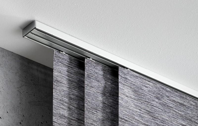 Permium Gardinenschiene buchheister® track 2-5 in edelstahl