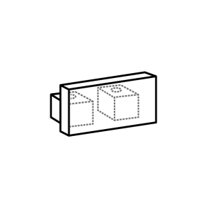 Endkappe track 2-Lauf