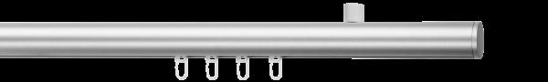 round mit Deckenträger style - 1,5-, Farbe: alu-silber