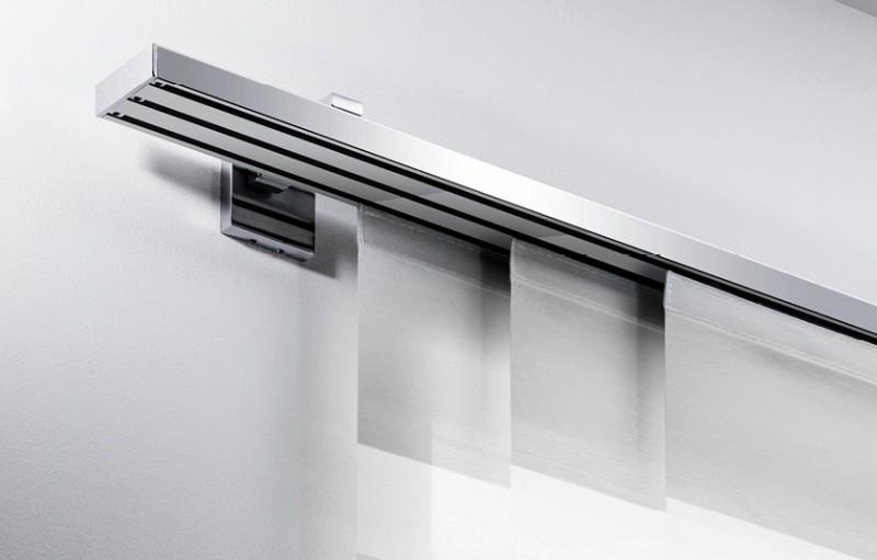 Gut bekannt Design Flächenvorhang - Schiebegardine Gardinenschienen UY38