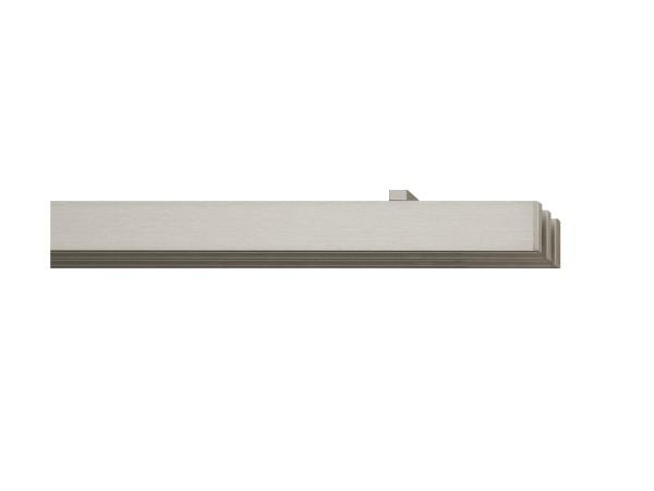 rail&roll mit Deckenträger, 3-Lauf, Farbe: vernickelt-matt