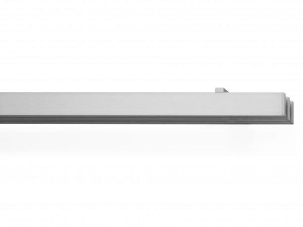 rail&roll mit Deckenträger, 3-Lauf, Farbe: edelstahl