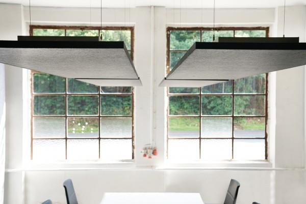 Deckensegel-Set ceiling squarez Deckenträger