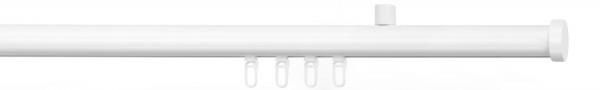 puire mit Deckenträger style 1,5 cm, Farbe: weiss