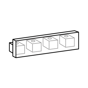 Endkappe track 4-Lauf